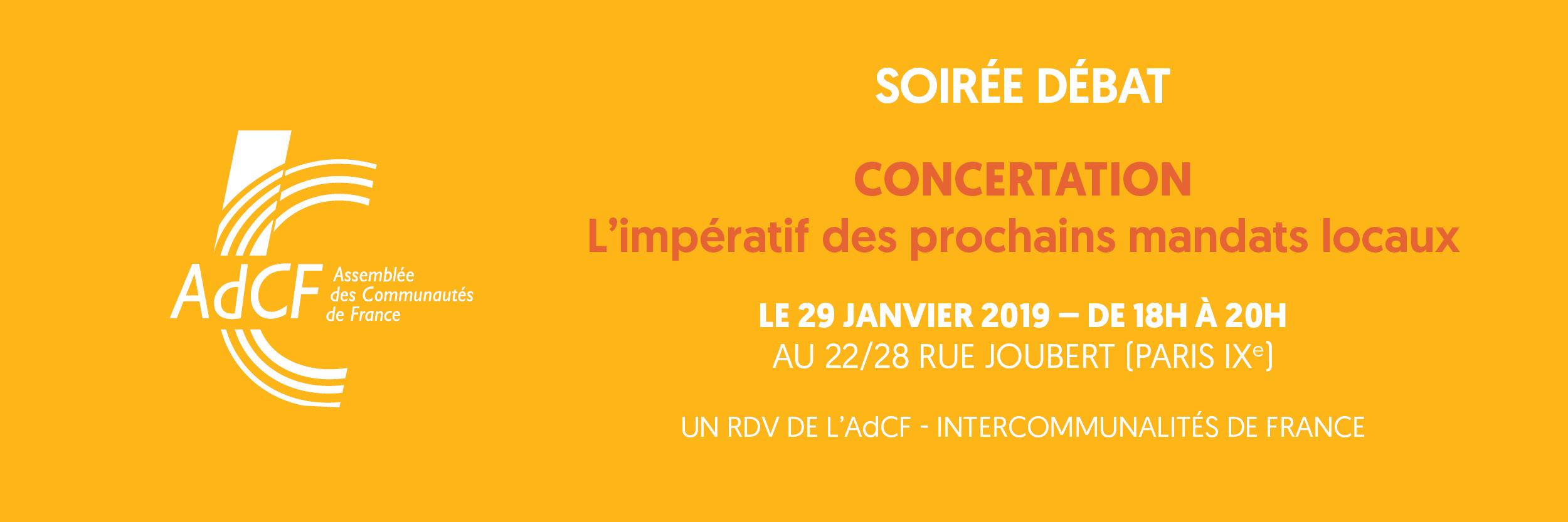 AdCF - Assemblée des communautés de France