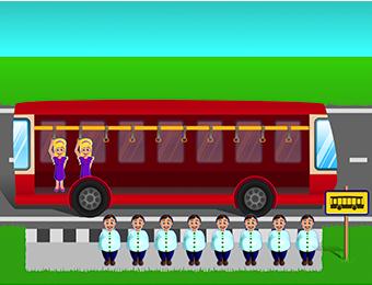 Optellen t/m 10 via bussommen