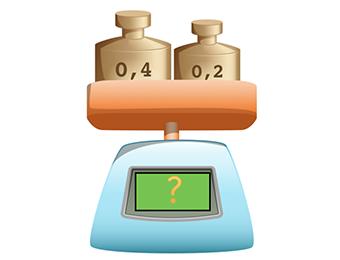 Optellen met kommagetallen met of 2 decimalen