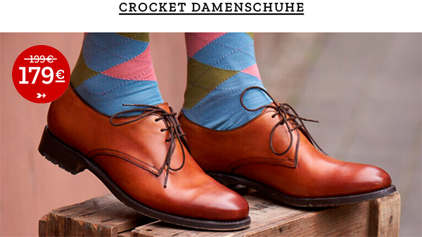 Crocket Damenschuhe