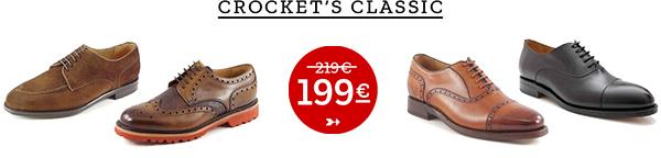 Rahmengenähte Herrenschuhe: Crocket's Classic