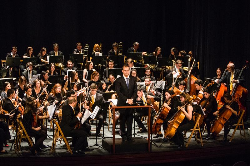 Orquesta Ciudad de Alcalá en ALCINE