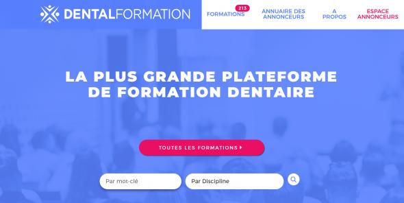 Le portail de la formation dentaire
