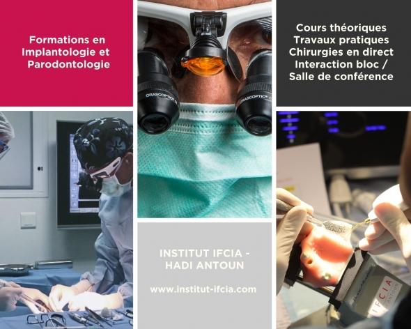 Formations de l'Institut IFCIA - Hadi Antoun