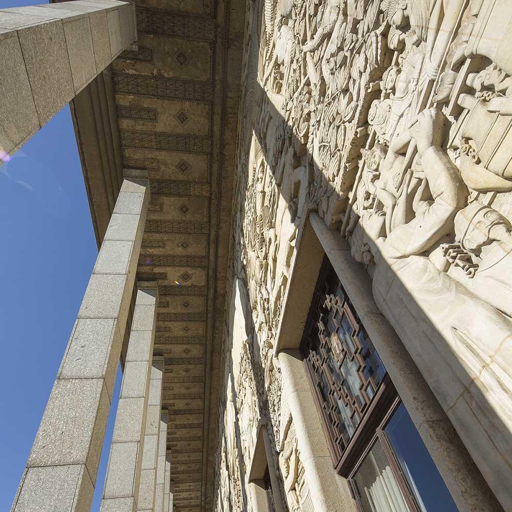 Le bas-relief du Palais