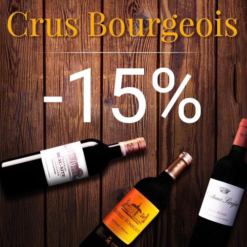 -15% sur les Crus Bourgeois