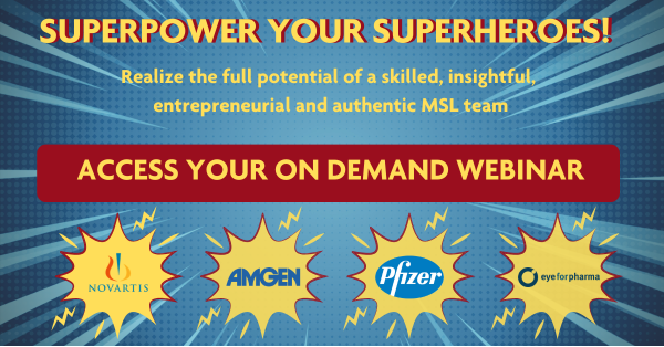Superpower your superheroes! Access your on demand webinar