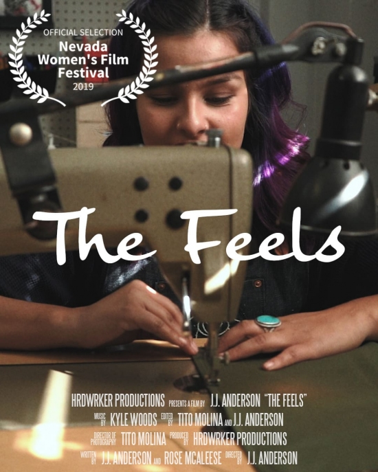 """""""The Feels"""" poster"""