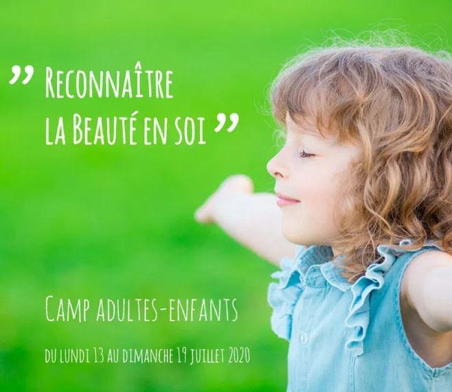Camp : Reconnaitre la beauté en soi