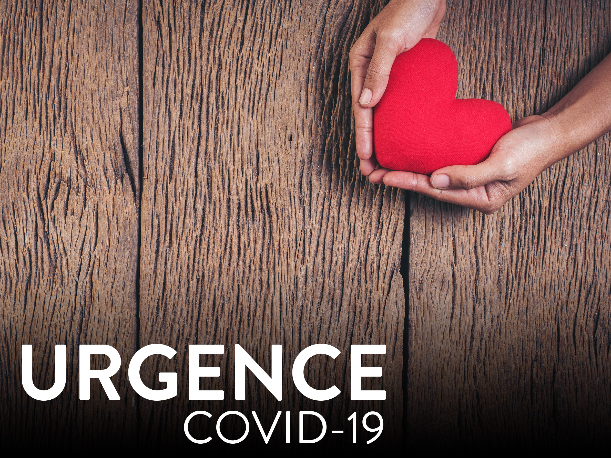 La pandémie de COVID-19 nous prive de vos dons.