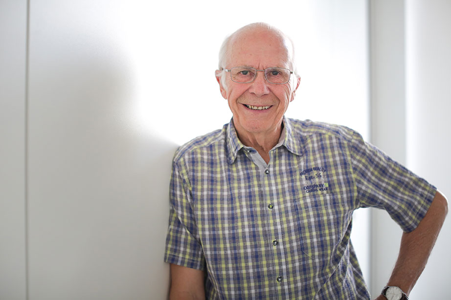 Georges Bolay, président de l'EPG
