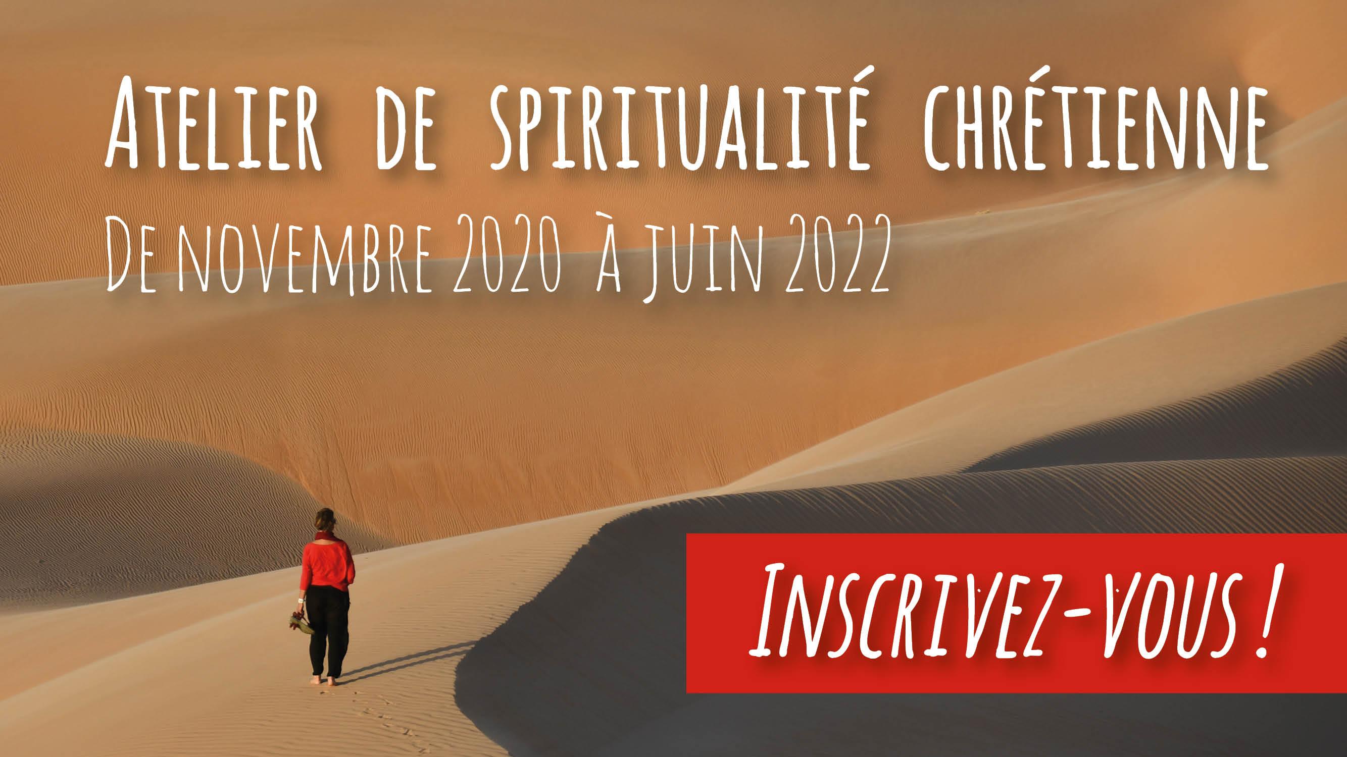 Atelier de spiritualité chrétienne