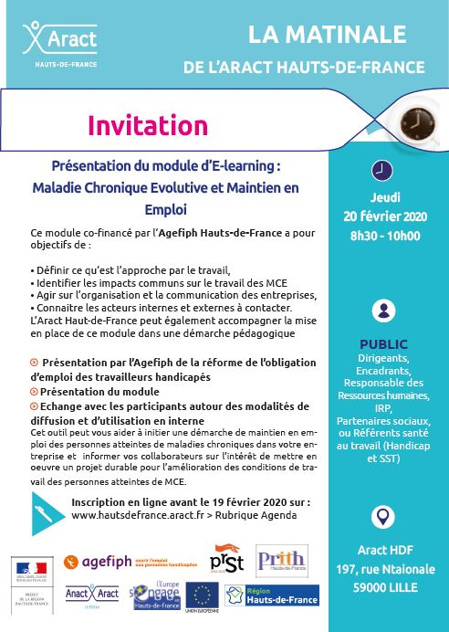 Cliquer pour consulter l'invitation