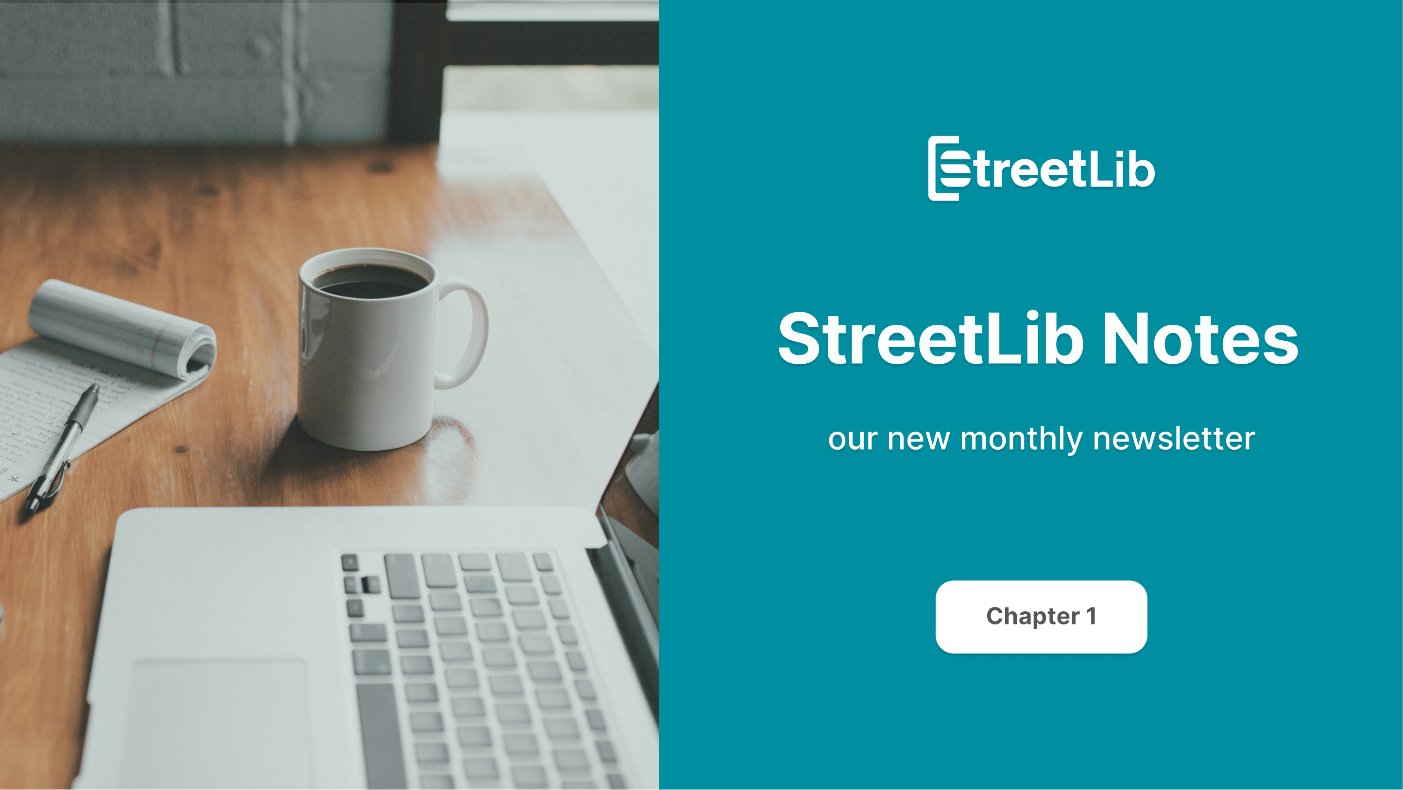 StreetLib Notes, our new monthly newsletter