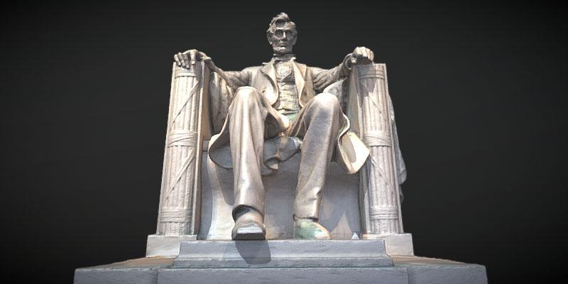 Abraham Lincoln statue image