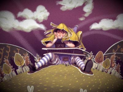 Alice in Paperland image