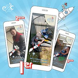 Concours inter-E2C sur Snapchat