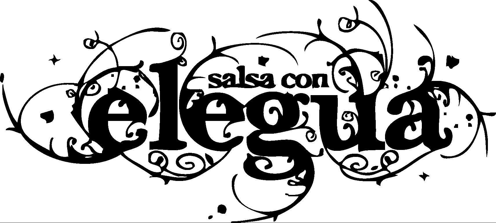 Logo elegua black and white