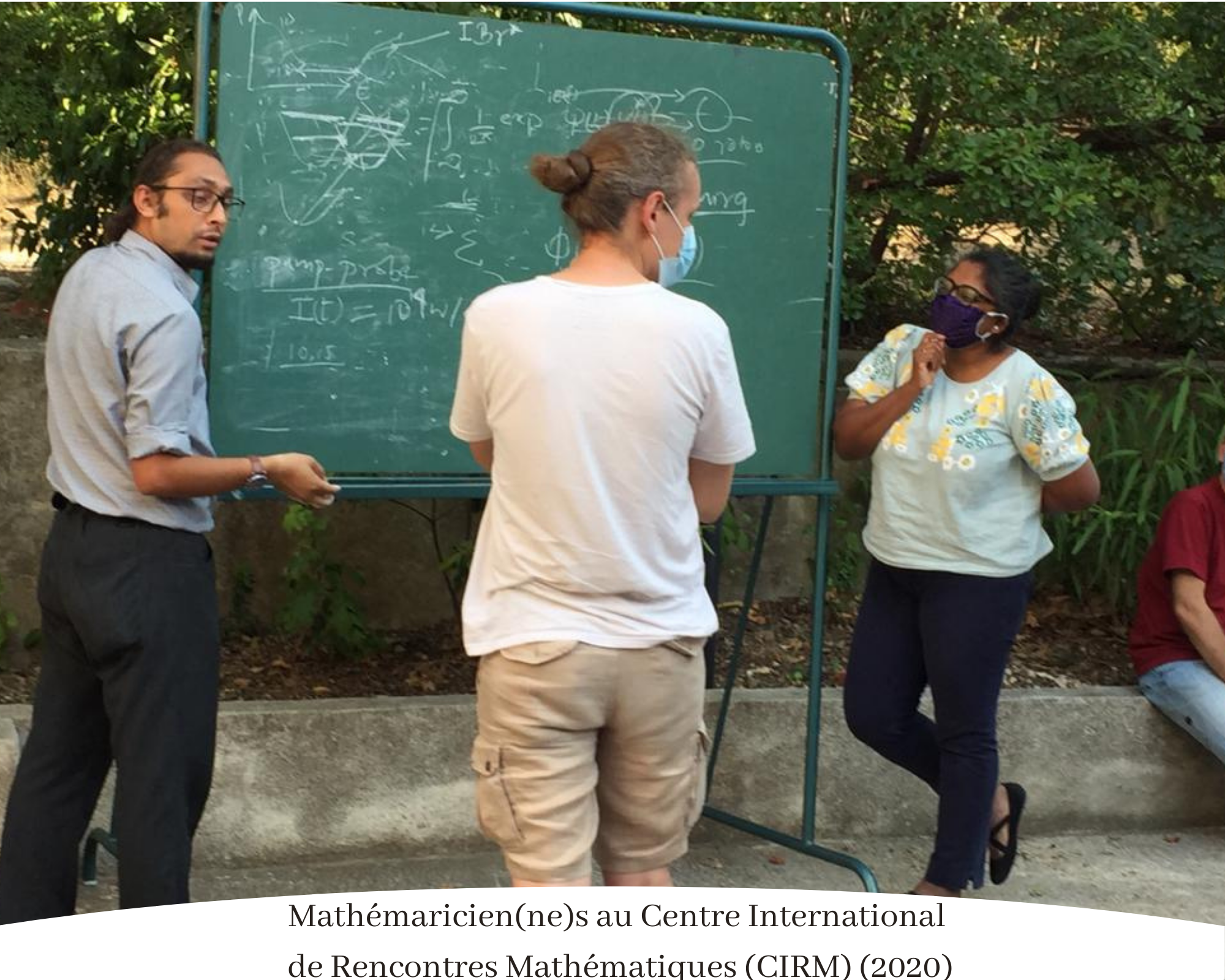 Mathématicien(ne)s au Centre International de Rencontres Mathématiques (2020), Clotilde Fermanian