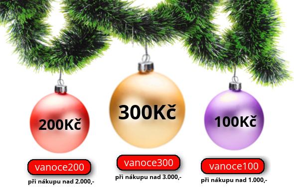Uplatňujte slevové kódy podle svého nákupu a odečtěte si až 300,- Kč z Vaší objednávky.