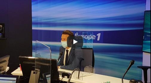 Revoir l'interview de Guillaume Peltier sur Europe 1