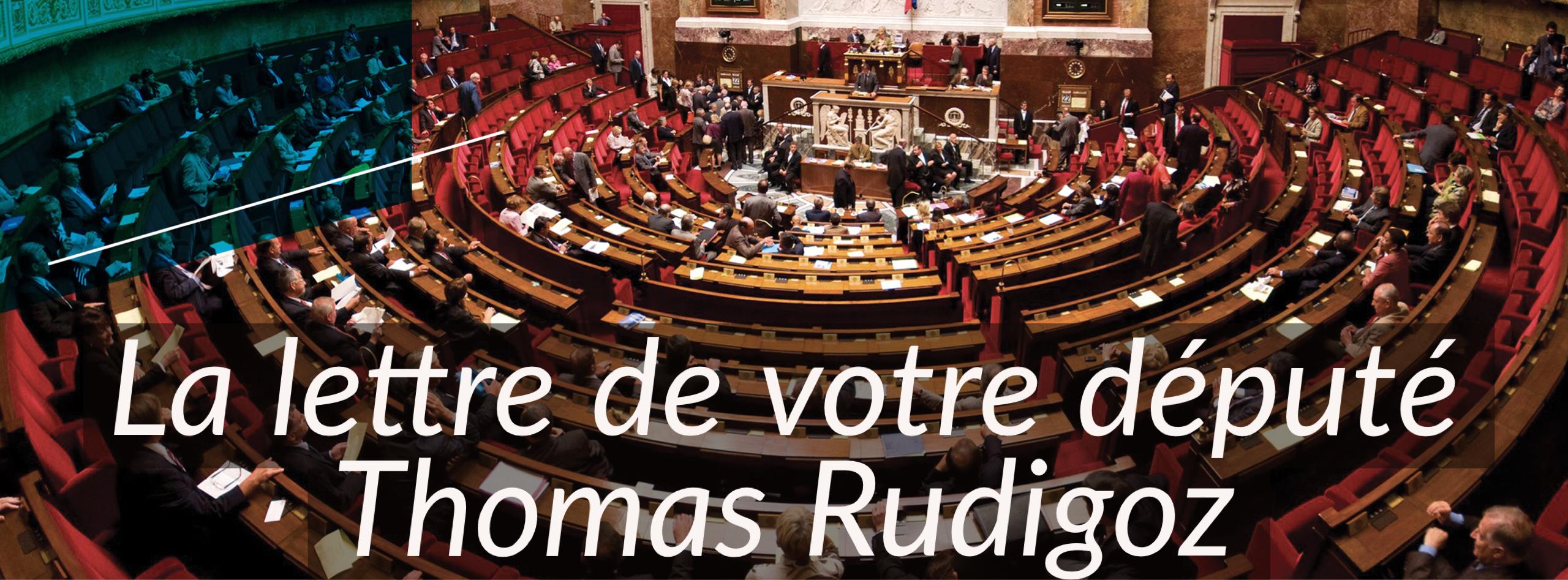 Thomas Rudigoz, député du Rhône