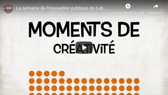 La Semaine de l'Innovation publique du Lab @RCHIPEL
