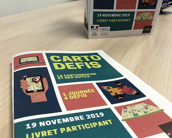 Carto'Défis, un format innovant pour la première rencontre technique de la plateforme d'observations sanitaire et sociale Auvergne-Rhône-Alpes