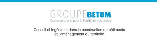 site web Groupe BETOM