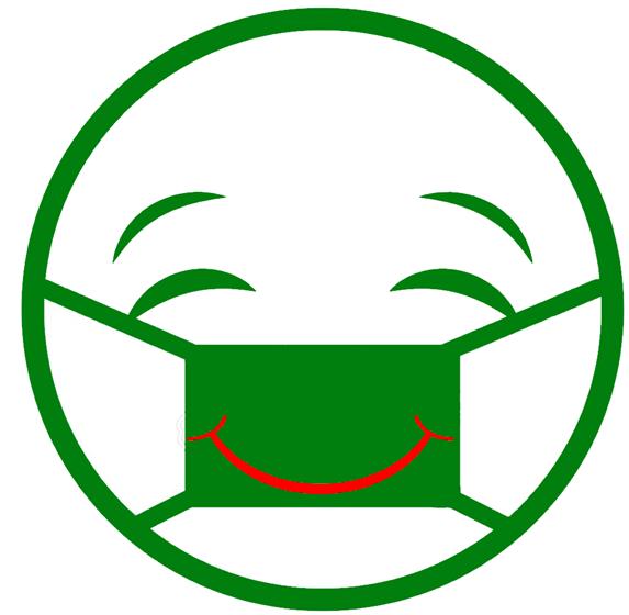 Même masqué(e)s, gardons le souririe !