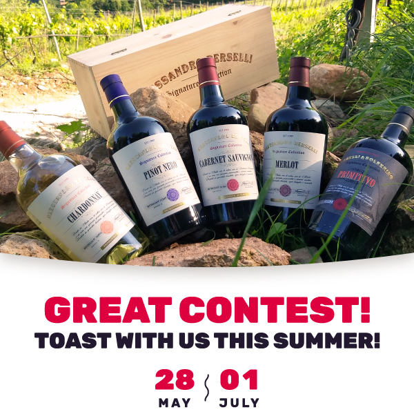 Great contest! Toast with us this summer!
