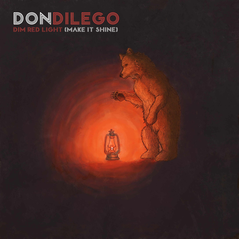 """Don DiLego - """"Dim Light (Make It Shine)"""" Album Cover"""
