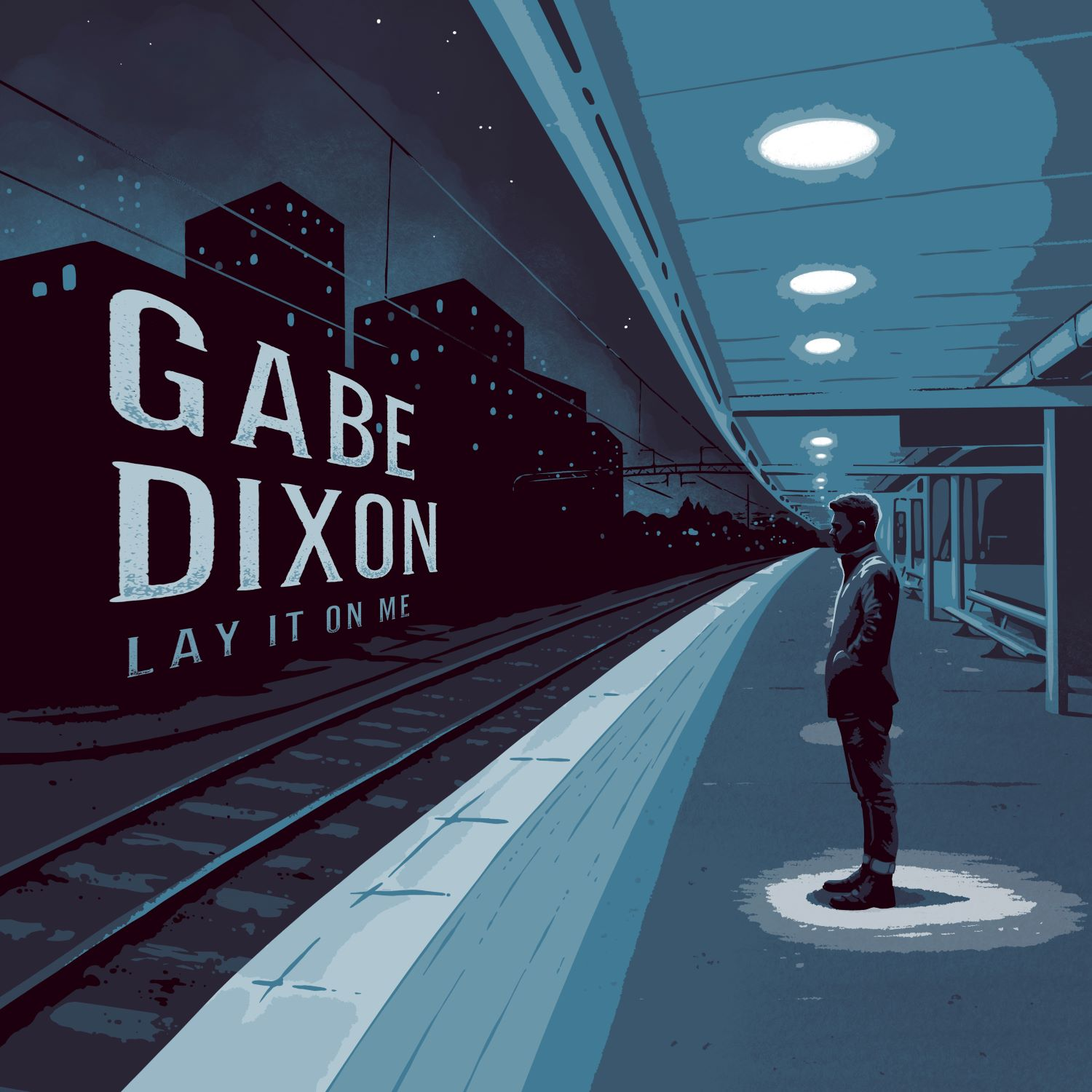 Lay It On Me by Gabe Dixon Album Cover