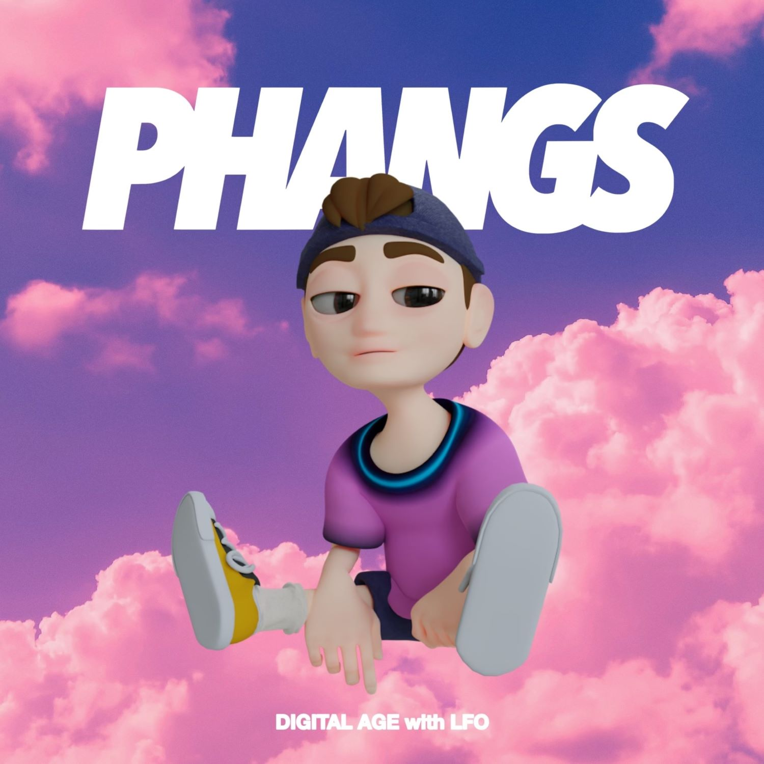 PHANGS DIGITAL AGE COVER IN AN ARTICLE FOR POP NEW MUSIC FRIDAY