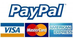 Dona su PayPal con carta di credito