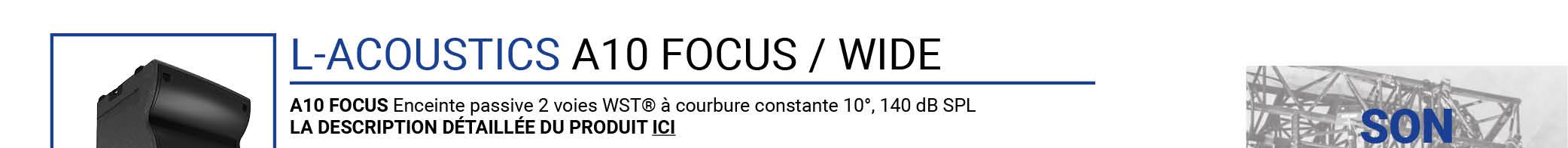 LACOUSTICS A10 Focus