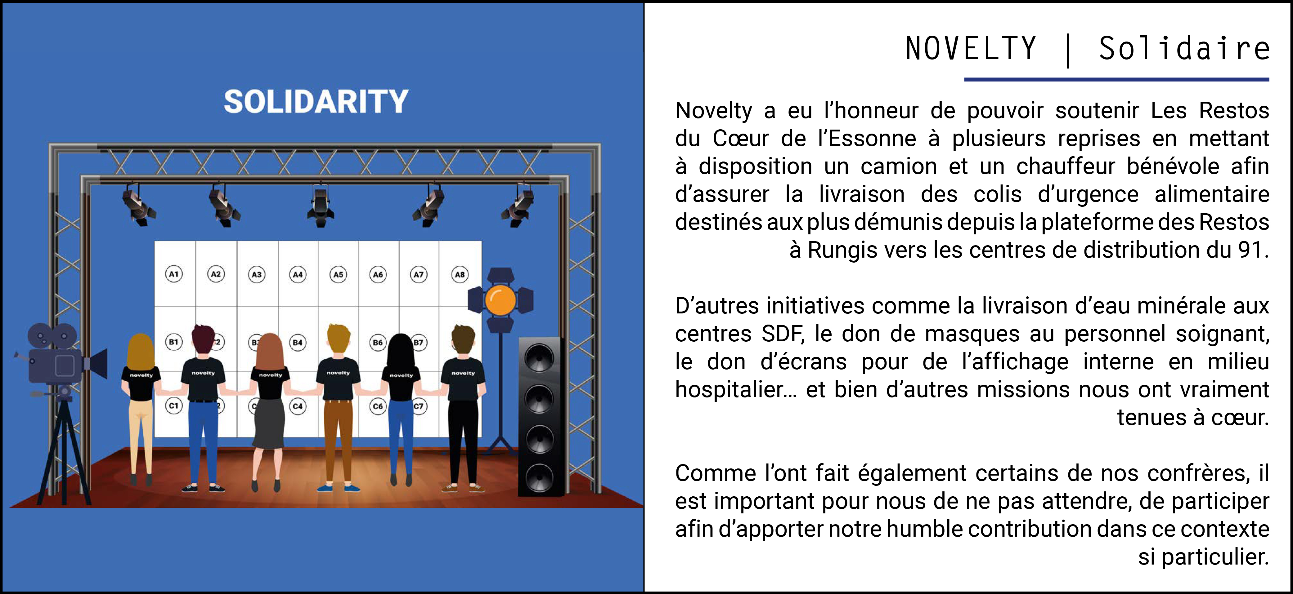 NOVELTY | Solidaire