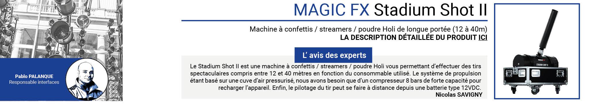 MAGIC FX Stadium Shot II
