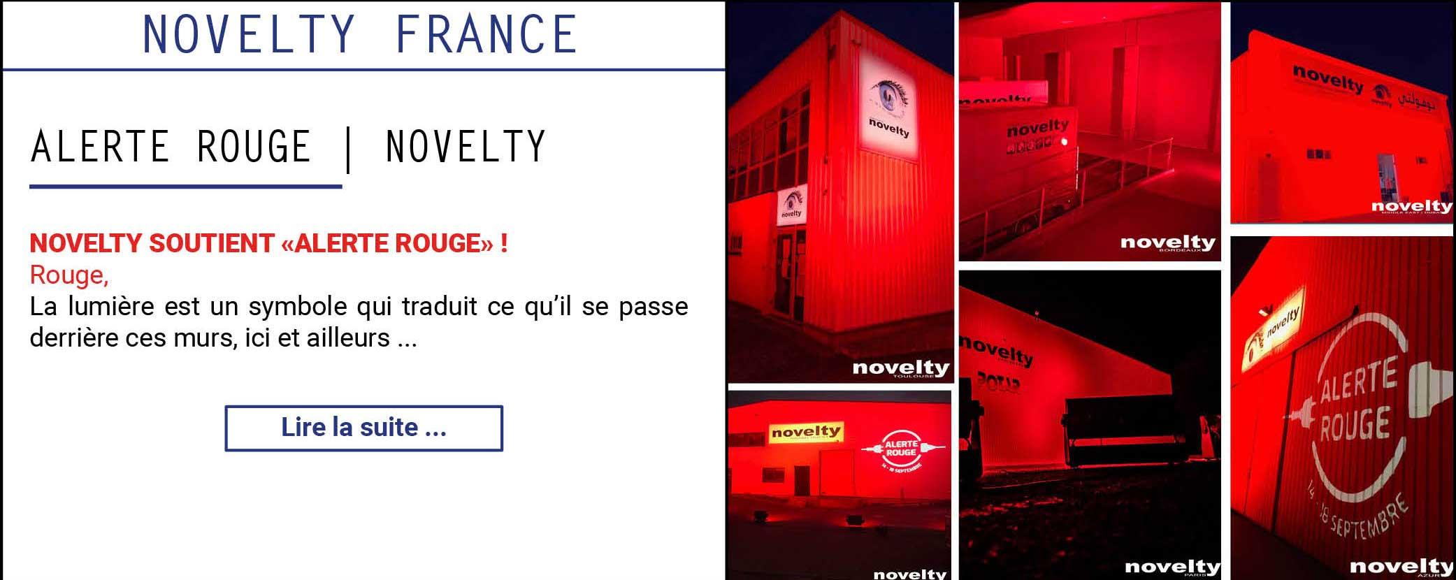 Alerte Rouge | NOVELTY