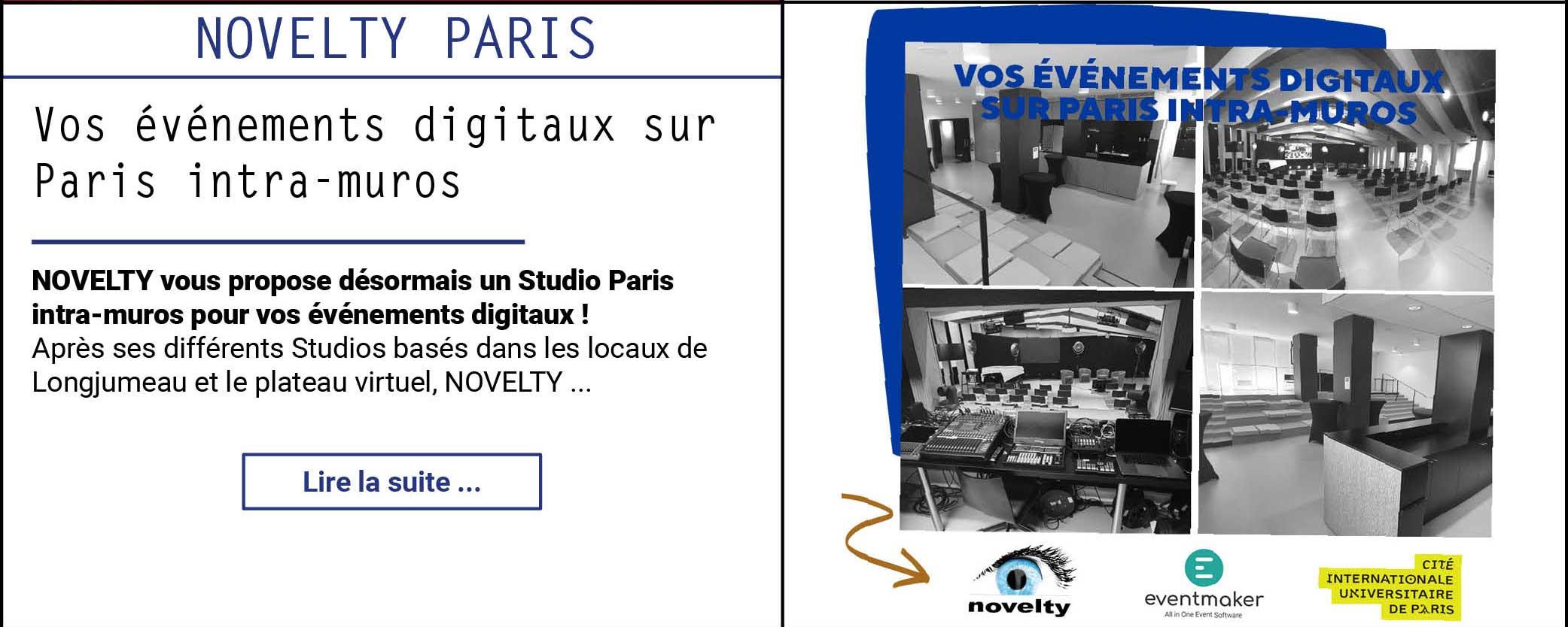 Vos événements digitaux sur Paris intra-muros