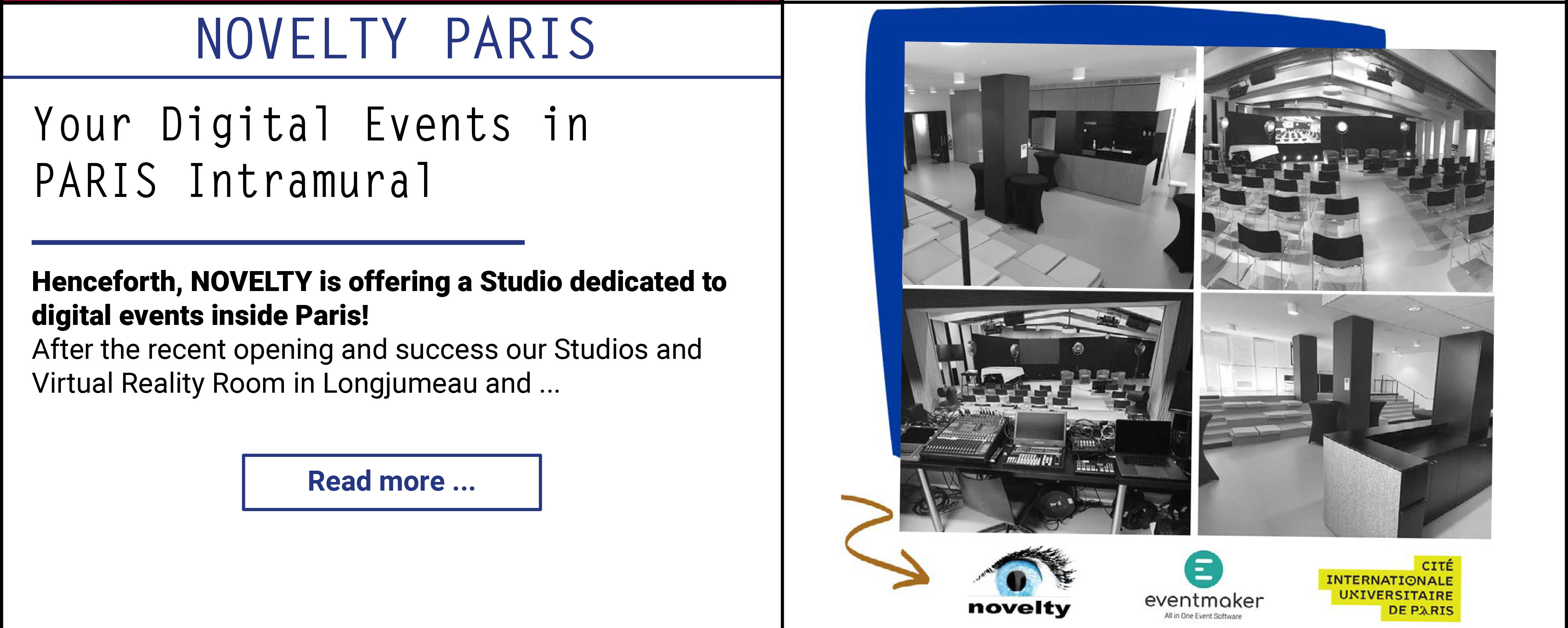 Your digital Events in Paris intramural