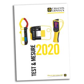 Chauvin Arnoux - 2020 Catalogue Test et Mesure