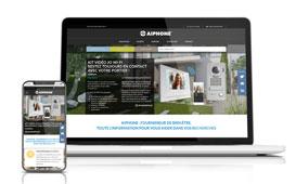 Le site Internet d'Aiphone fait peau neuve