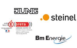 Jung, Steinel, Greta Lorraine Centre, BM Energie : nouveaux membre de KNX France