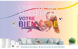 « L'innovation au coeur de votre bien-être », elm.leblanc dévoile sa nouvelle signature