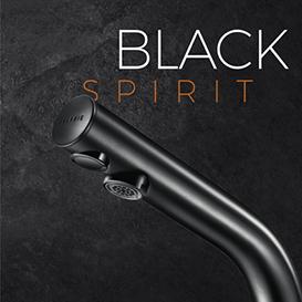 Delabie - Binoptic - BLACK SPIRIT, robinetteries électroniques