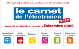 Le carnet de l'électricien N°45