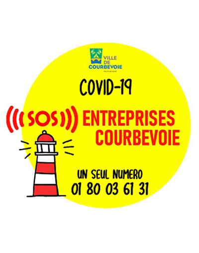 Covid-19 S.O.S. Entreprises Courbevoie