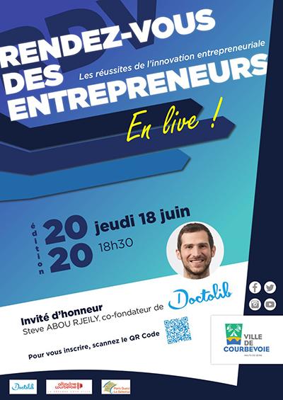 Rendez-vous des entrepreneurs invite Doctolib