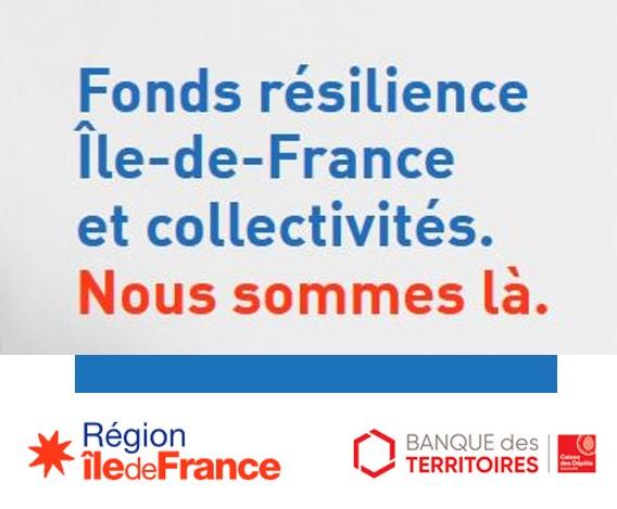 Fonds Résilience Ile-de-France & Collectivités